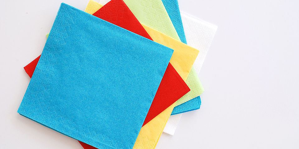 paper napkins are disposable food contact materials