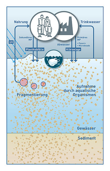 Microplastic graphic