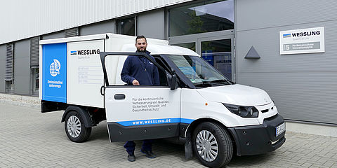 The WESSLING electric car