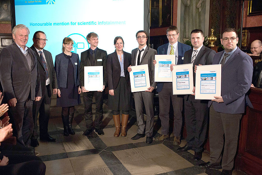 Gruppenfoto Innovation Award 2017